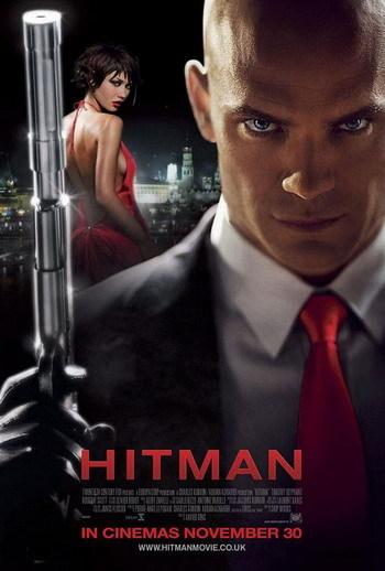 Horroroso póster de 'Hitman'