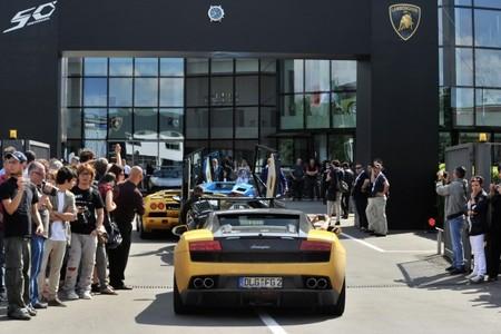 Grande Giro, una celebración de lujo para el 50º aniversario de Lamborghini