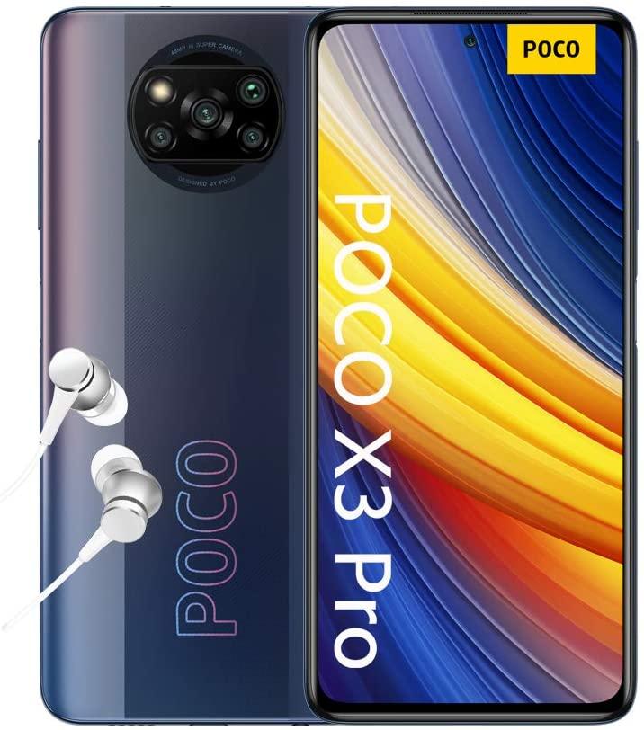 "Poco X3 Pro Smartphone RAM 6GB ROM 128GB 120Hz 6.67"" FHD+ LCD DotDisplay 5160mAh(typ) Batería 48MP Cámara Negro [Versión en Español]"