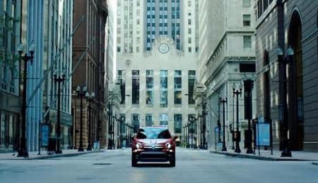 El Fiat 500X se ve ahí, a lo lejos