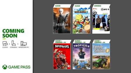 Dragon Quest Builders 2 y Tropico 6 entre los juegos que llegarán a Xbox Game Pass durante la primera quincena de julio