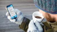 Glovys, la fina lámina transparente que te permite usar el móvil con guantes
