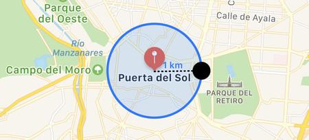 Cómo crear una alerta en tu móvil para saber si te alejas más de 1 km de casa