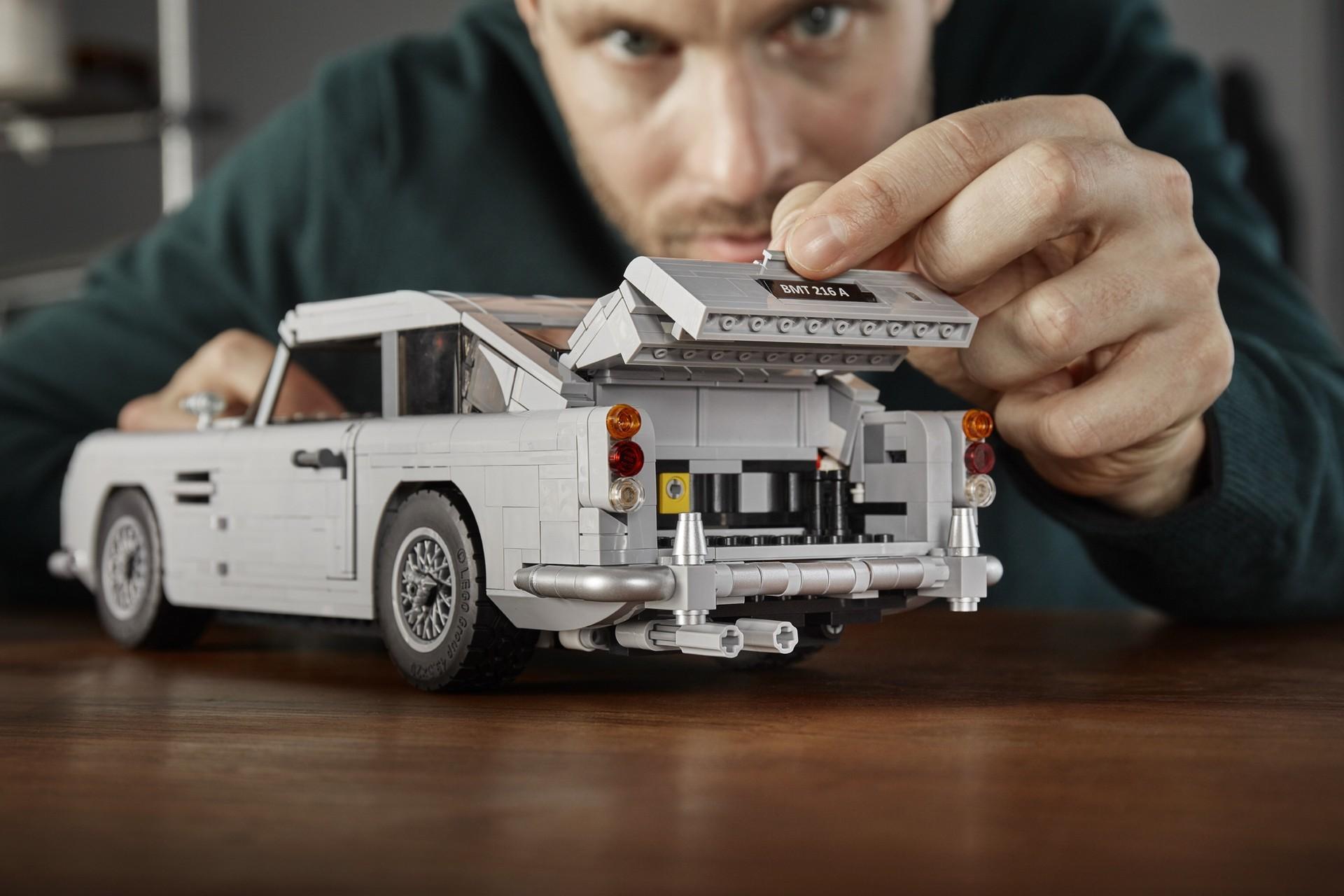 Foto de Aston Martin DB5 007 de LEGO (37/39)