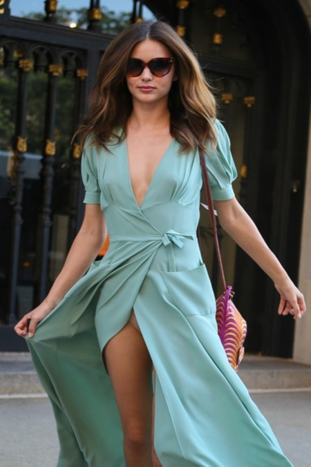 Miranda Kerr verde menta 2012