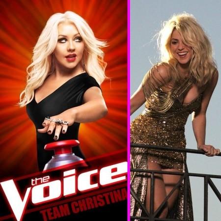 Christina Aguilera dice adiós a The Voice y le pasa la silla giratoria a... ¿Shakira?