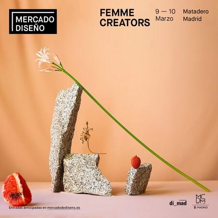 Cuadrado Marzo Femme Creators 2019