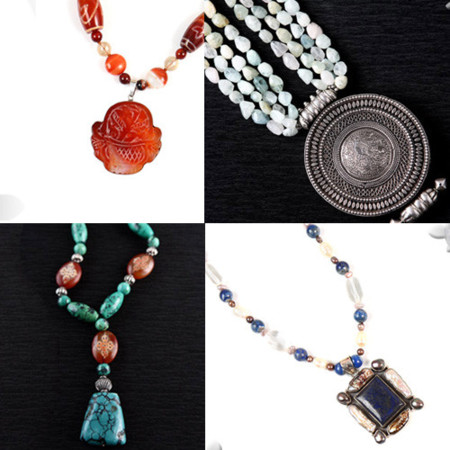 La Camelia Azul: joyas talladas en piedras
