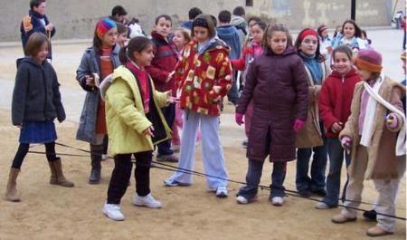 Juegos tradicionales: la goma