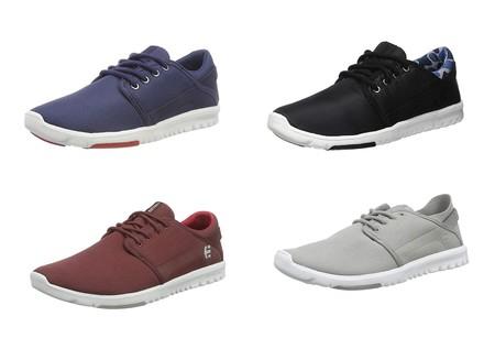 Si tenemos suerte con la talla podemos hacernos con unas  zapatillas Etnies Scout desde sólo 18,49 euros en Amazon
