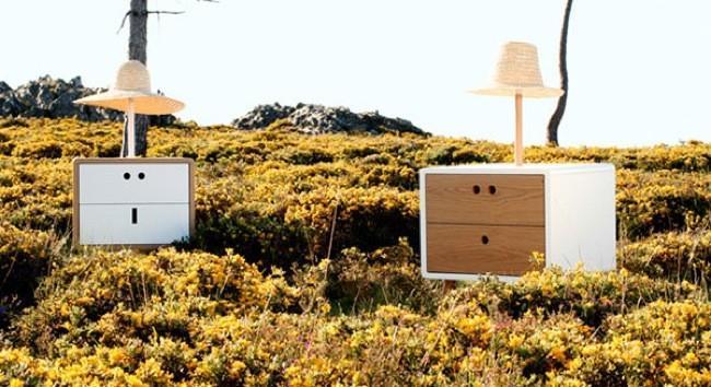 Los divertidos muebles 'I see faces' de DAM & Friends