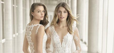 Los vestidos de novia más sexys los firma Rosa Clará en su colección 2018
