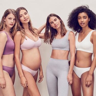 Women'Secret lanza una colección de sujetadores, ropa interior y deportiva sin costuras muy minimalista y bonita