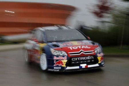 Rally de Alsacia 2010: Sébastien Loeb golpea primero