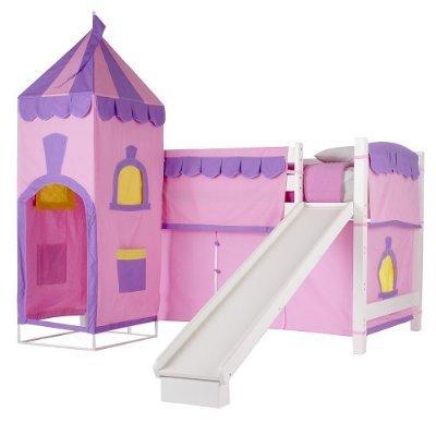 Una cama o un castillo.