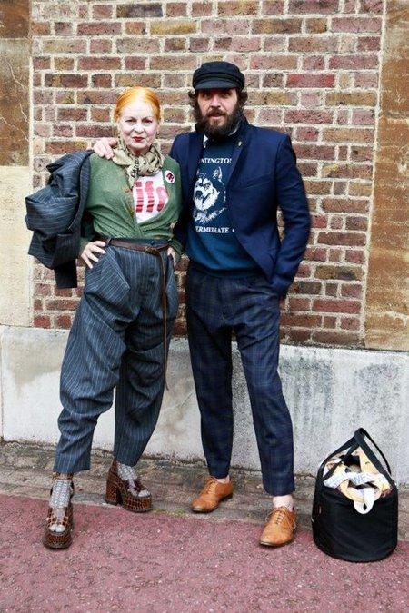 Andreas Kronthaler y Vivien Westwood