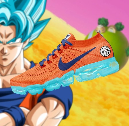 Dragon Ball Super Nike Air Vapormax Goku