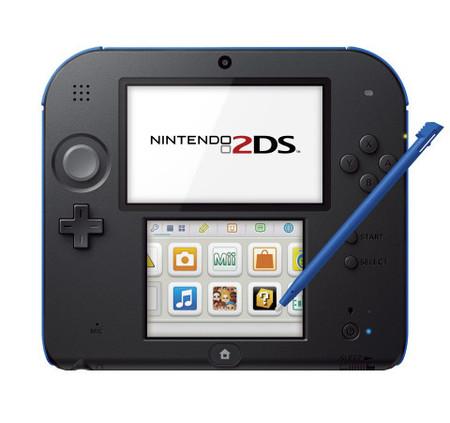 Nintendo 2DS, sin 3D y sin cuerpo plegable