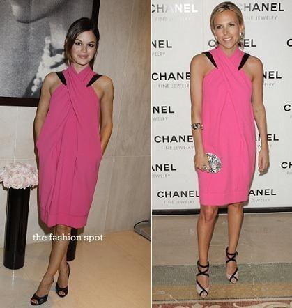 Vestido de Chanel: ¿Tory Burch o Rachel Bilson?