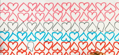 Nueve diseños de papel pintado ideales para el día de San Valentín