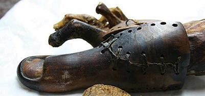 Una prótesis de hace más de 2500 años