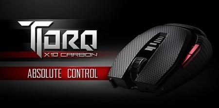 EVGA entra al mercado de periféricos con mouse para gaming TORQ X10 Carbon