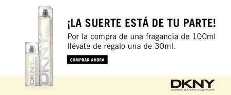 Día de la madre: llévate gratis 30 ml extra de su perfume DKNY en Douglas