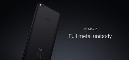 Xiaomi Mi Max 2 de 64GB, en versión global, por 169 euros y envío gratis