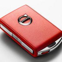 ¿Cómo es que Volvo utiliza una llave roja para aumentar la seguridad en sus autos?
