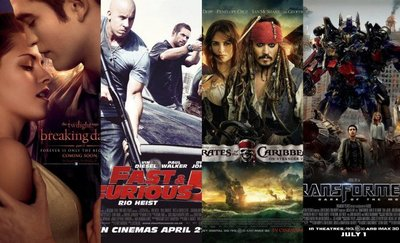 Las peores películas de 2011