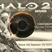 Esta grabación del legendario Steve Vai prestando sus acordes a la B.S.O. de Halo 2 es un festín para el oído