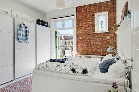 Dormitorio del loft duplex