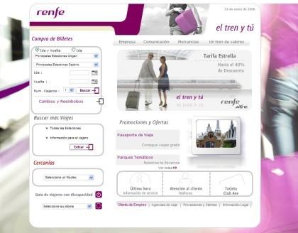 Cómo encontrar los descuentos en la web de Renfe