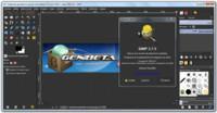 GIMP 2.7.5 liberado. Probando la ventana única en Windows 7