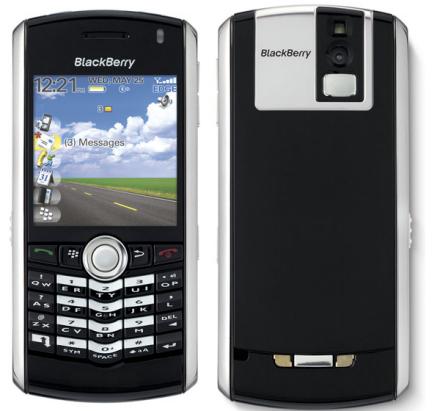 Blackberry Pearl presentado