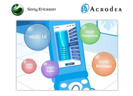 Sony Ericsson incorpora nuevas tecnologías a sus terminales: Vivid IU y Panorama