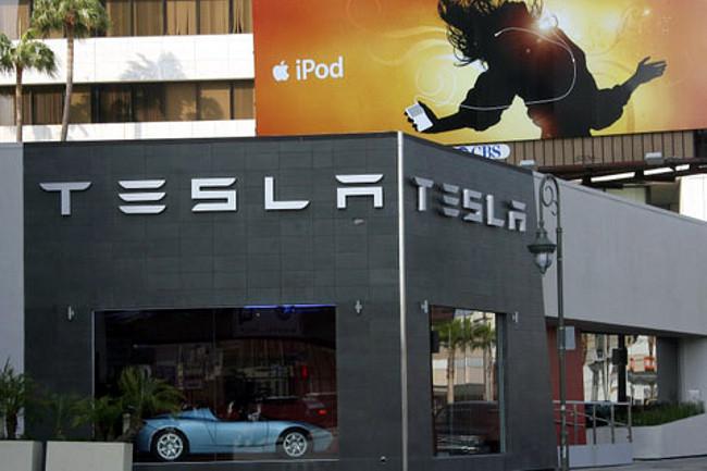 Concesionario Tesla - Los Ángeles