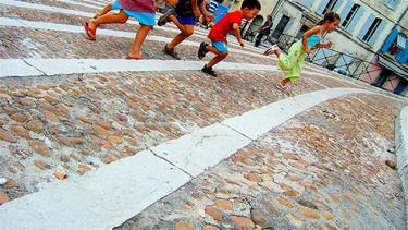 Los niños de ahora son más lentos corriendo que nosotros