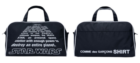 Comme des Garcons Star Wars bolsa