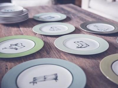 Los Platos de Pan, encantadores platos pintados a mano