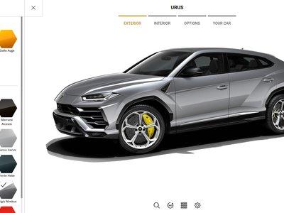 Si quieres un Lamborghini Urus estás de suerte: ya puedes configurarte uno a medida