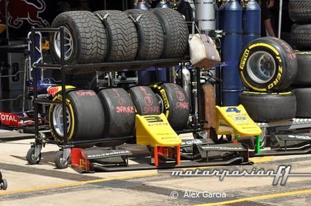 La GP2 modifica sus normativas de neumáticos para parecerse más a la Fórmula 1