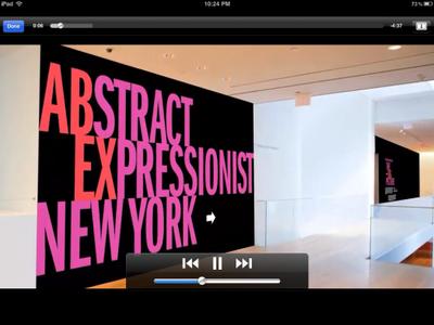 Aplicaciones viajeras para el iPad: el MoMA