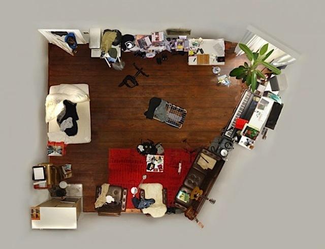 """Foto de """"Room portraits"""", habitaciones retratadas desde un nuevo ángulo por Menno Aden (7/7)"""