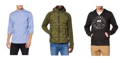 Chollos en tallas sueltas de chaquetas, jerseys y camisas Superdry, Billabong o Hackett a la venta en Amazon