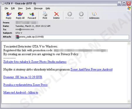 Cuidado con las invitaciones para la beta de GTA V en PC