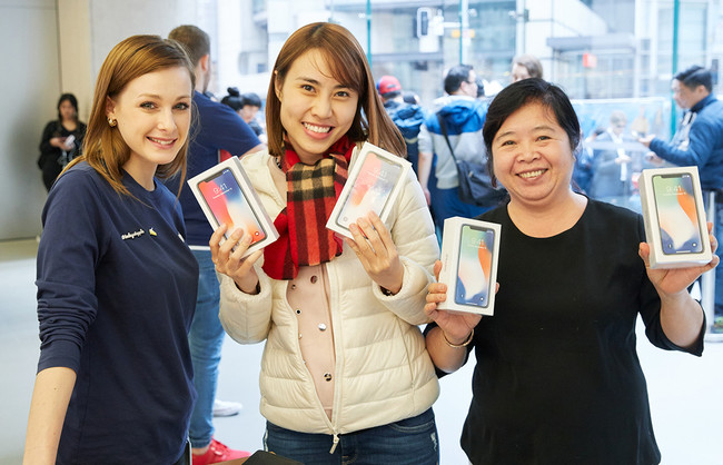 Iphonex Launch Georgestreet Sydney Multiple Purchase 20171102