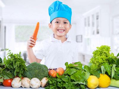 Bebés y niños pequeños con dietas vegetarianas, ¿es saludable?