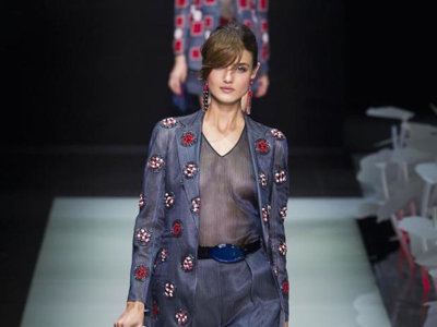 La elegancia atemporal de Giorgio Armani muy presente en la colección de Primavera/Verano 2016