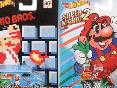 Mattel lanzaría Hot Wheels especiales para el 30 aniversario de Super Mario Bros